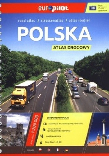Okładka książki Polska. Atlas drogowy. 1:200 000 Daunpol