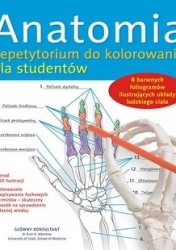 Okładka książki Anatomia. Repetytorium do kolorowania dla studentów