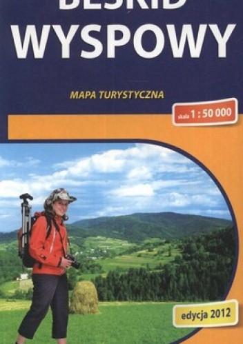 Okładka książki Beskid Wyspowy. Mapa turystyczna. 1:50 000