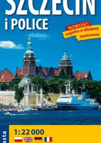 Okładka książki Szczecin i Police. Plan miasta, laminowany. 1:22 000 Expressmap