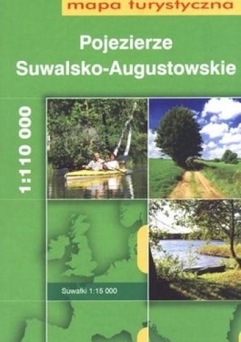 Okładka książki Pojezierze Suwalsko-Augustowskie. Mapa turystyczna. 1:110 000 Daunpol