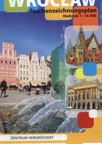 Okładka książki Breslau Wrocław. Rysunkowy plan kieszonkowy. 1:16 500 Studio Plan