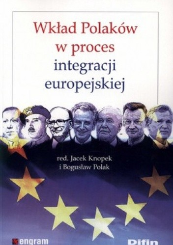 Okładka książki Wkład Polaków w proces integracji europejskiej