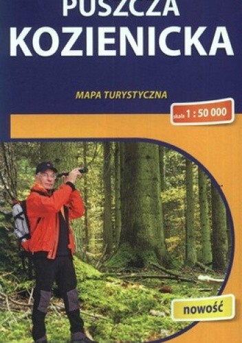 Okładka książki Puszcza Kozienicka. Mapa turystyczna. 1:50 000 Compass