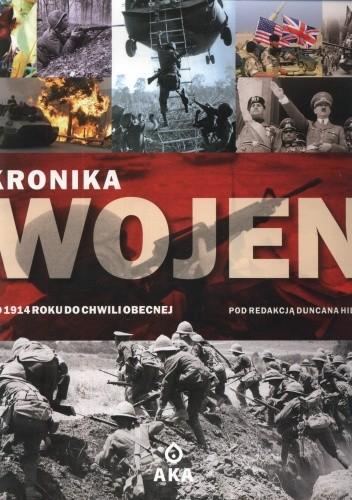 Okładka książki Kronika wojen. Od 1914 roku do chwili obecnej