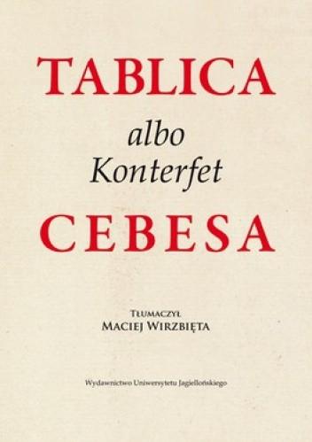 Okładka książki Tablica albo Konterfet Cebesa