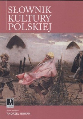 Okładka książki Słownik kultury polskiej