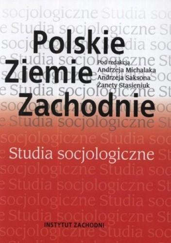 Okładka książki Polskie Ziemie Zachodnie. Studia socjologiczne