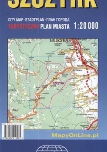 Okładka książki Szczyrk. Turystyczny plan miasta. 1:20 000 Witański