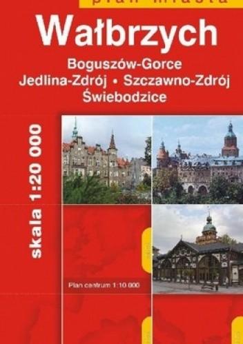 Okładka książki Wałbrzych. Plan miasta. 1:20 000 Daunpol