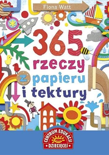 Okładka książki 365 rzeczy z papieru i tektury