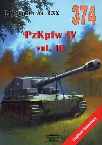 Okładka książki Pzkpfw IV vol.III. Tank Power vol.CXX 374