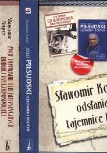 Okładka książki Afery i skandale Drugiej Rzeczypospolitej + Życie prywatne elit artystycznych Drugiej Rzeczypospolitej + Józef Piłsudski. Człowiek i polityk (komp...