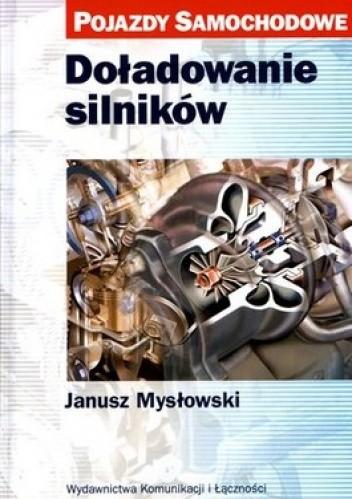 Okładka książki Doładowanie silników. Pojazdy samochodowe