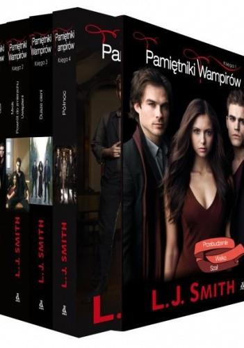 Okładka książki Pamiętniki wampirów. Księga 1,2,3,4 (komplet)