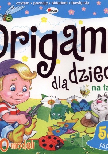 Okładka książki Origami dla dzieci na łące