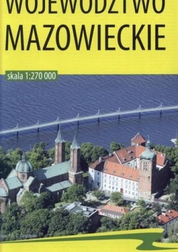 Okładka książki Województwo mazowieckie. Mapa turystyczno-samochodowa. 1:270 000 BiK