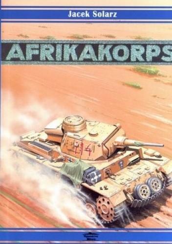 Okładka książki Afrika Korps 1941-1943