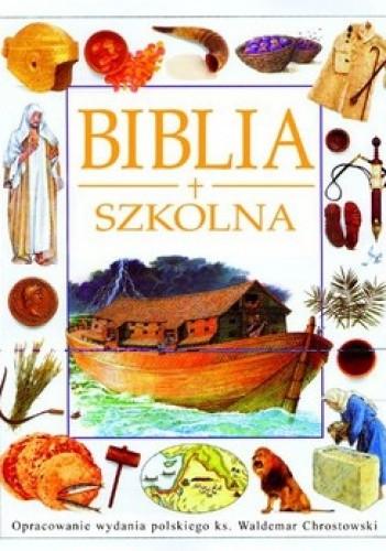Okładka książki Biblia szkolna