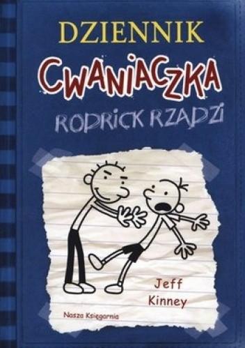 Okładka książki Dziennik cwaniaczka. Rodrick rządzi