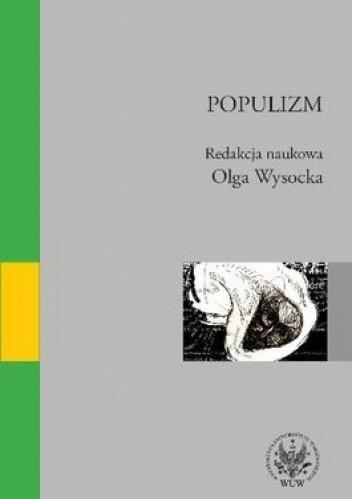Okładka książki Populizm