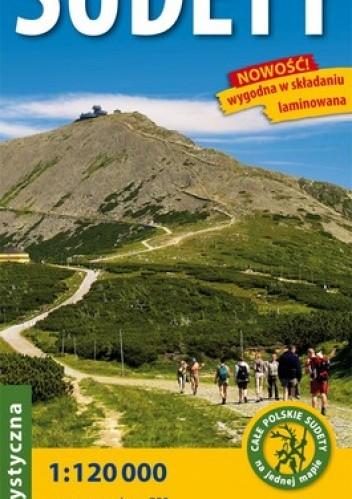 Okładka książki Sudety. Mapa turystyczna. Laminowana. 1:120 000 ExpressMap