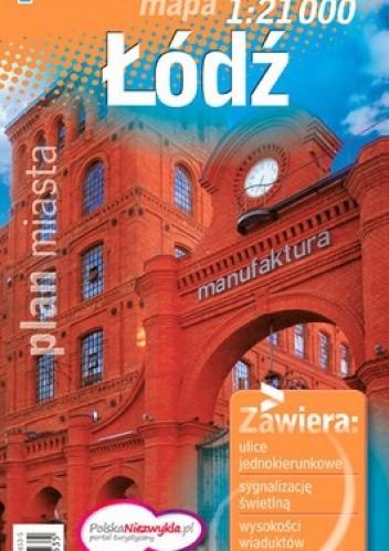 Okładka książki Łódź. Plan miasta. 1:21 000 Demart