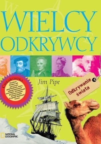 Okładka książki Wielcy odkrywcy