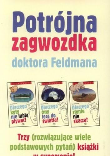 Okładka książki Potrójna zagwozdka doktora Feldmana (pakiet 3 książek)