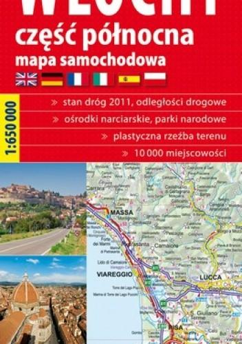 Okładka książki Włochy część północna. Mapa samochodowa. 1:650 000 ExpressMap