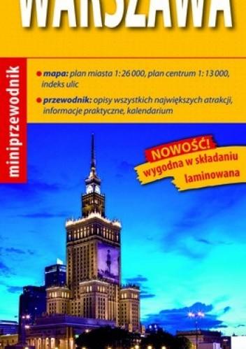 Okładka książki Warszawa. Miniprzewodnik (map & guide). 1:13 000 ExpressMap