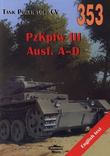 Okładka książki PzKpfw III. Ausf. A-D