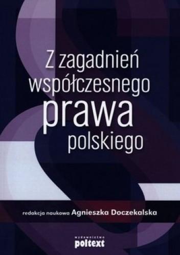Okładka książki Z zagadnień współczesnego prawa polskiego