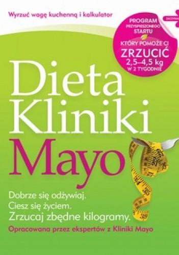 Okładka książki Dieta Kliniki Mayo