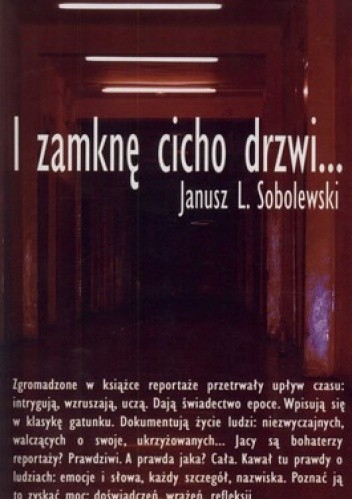 Okładka książki I zamknę cicho drzwi...