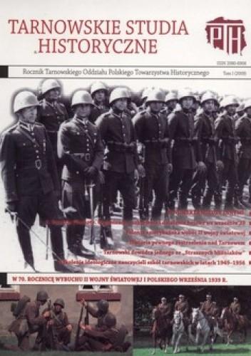 Okładka książki Tarnowskie studia historyczne. Tom 1 (2009)
