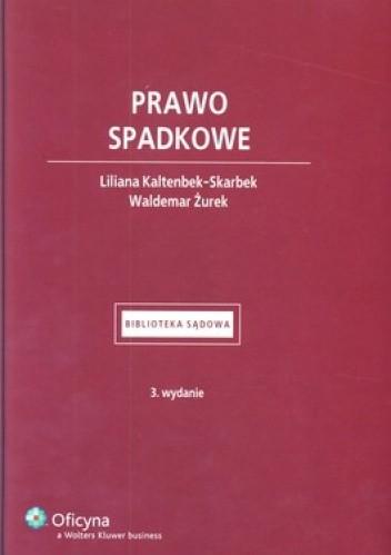 Okładka książki Prawo spadkowe