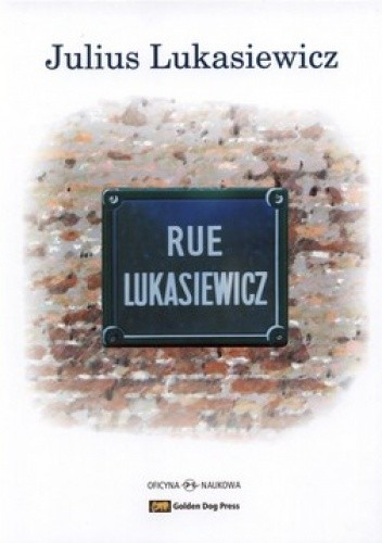 Okładka książki Rue Lukasiewicz. Glimpses of a life +CD