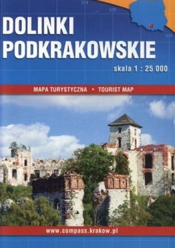 Okładka książki Dolinki Podkrakowskie. Mapa turystyczna. 1:25000, Compass
