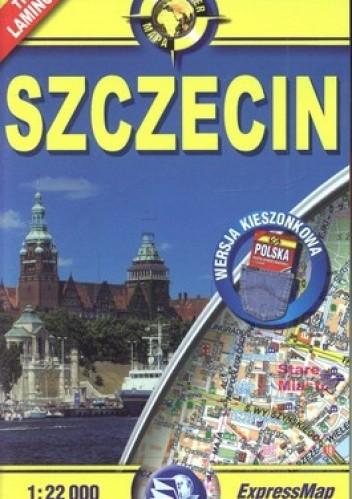 Okładka książki Szczecin plan miasta. Laminowany. 1:22 000 ExpressMap