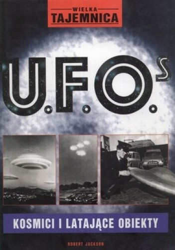 Okładka książki Wielka tajemnica U.F.O.