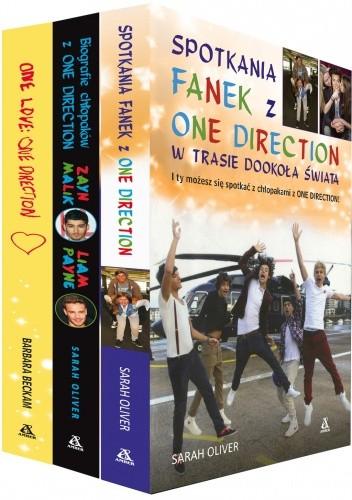 Okładka książki Spotkania fanek z One Direction+Biografie chłopaków z One Direction+One love. One Direction (komplet)