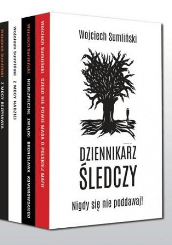 Okładka książki Czego nie powie Masa o polskiej mafii + Niebezpieczne związki Bronisława Komorowskiego + Z mocy nadziei + Z mocy bezprawia (komplet)