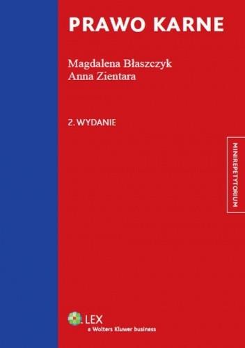 Okładka książki Prawo karne. Minirepetytorium