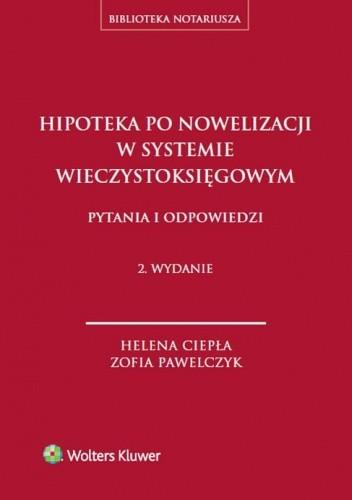 Okładka książki Hipoteka po nowelizacji w systemie wieczystoksięgowym