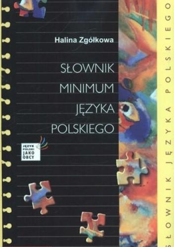 Okładka książki Słownik Minimum Języka Polskiego