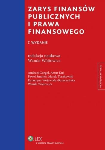 Okładka książki Zarys finansów publicznych i prawa finansowego