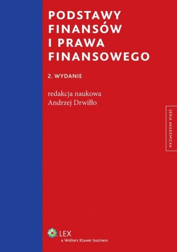 Okładka książki Podstawy finansów i prawa finansowego