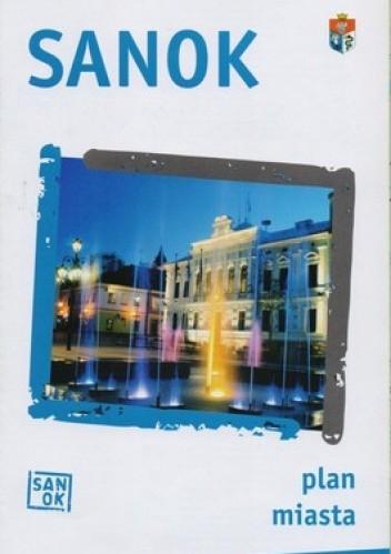 Okładka książki Sanok. Plan miasta. 1:11000 BIK