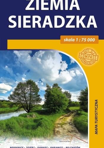 Okładka książki Ziemia Sieradzka. Mapa turystyczna. 1:75 000 Compass
